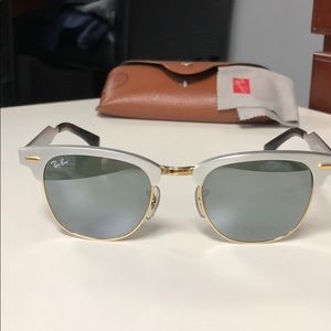 Ray-Ban RB 3507 clubmaster aluminum